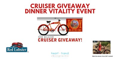 Cruiser Contest Giveaway Dinner Vitality Event