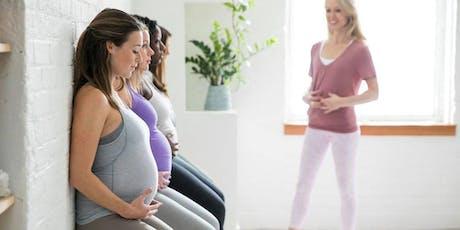 Prenatal Pilates - The Bump Method (7 Week Series) tickets