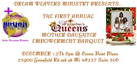 MOTHER AND DAUGHTER EMPOWERMENT BANQUET tickets