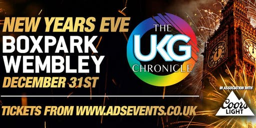 THE UKG CHRONICLE New Years Eve Party @Boxpark