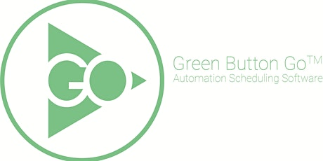 Green Button Go Automation Scheduling Software Basic Training tickets