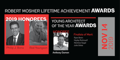 2019 Lifetime Achievement & Young Architect of the Year Awards