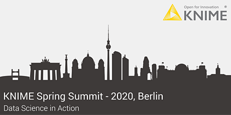 KNIME Spring Summit 2020 - Berlin tickets