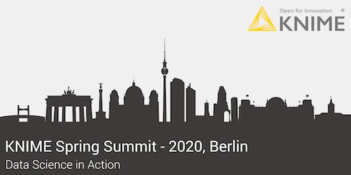 KNIME Spring Summit 2020 - Berlin