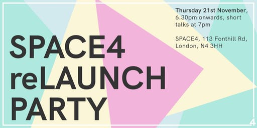 SPACE4 (re)LAUNCH PARTY