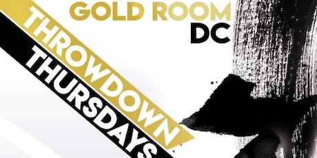 Goldroom thursdays  tickets