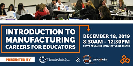 Intro to Manufacturing Careers for Educators tickets