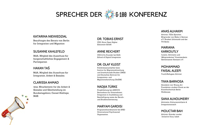 G100 Berlin Conference: New Voices For Europe image