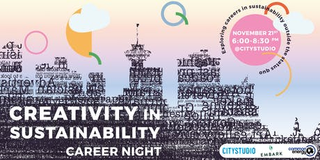 Career Night - Creativity in Sustainability tickets