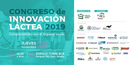 Congreso de Innovación Láctea 2019 entradas
