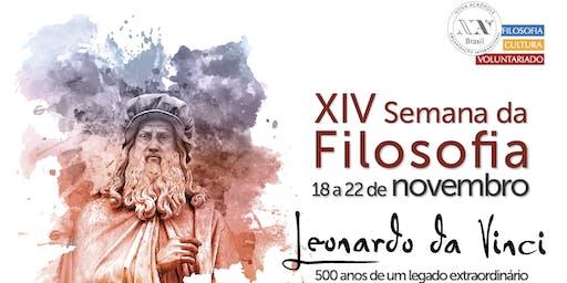XIV Semana da Filosofia – Palestra: Da Vinci e a construção de si mesmo