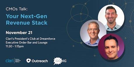 CMOs Talk: Your Next-Gen Revenue Stack tickets