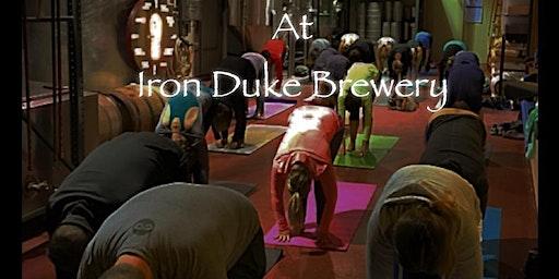 Yoga & Beer at Iron Duke Brewing