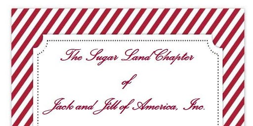 Sugar Land Chapter Crimson and Crystal Candy Cane Ball