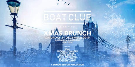 Boat Club X-Mas Brunch @ McQueen tickets