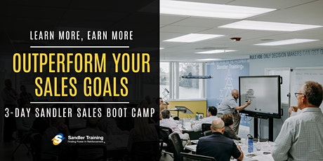 Business Development Boot Camp - Improve your whole year, in just 3 days! tickets