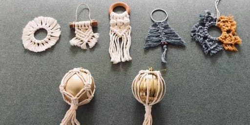 Christmas Macrame Workshop