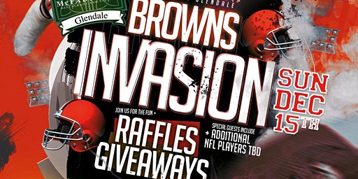 Cleveland Browns Invasion