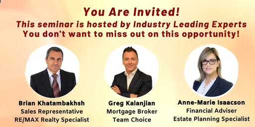 """""""Building Wealth by Investing in Real Estate"""" Seminar"""