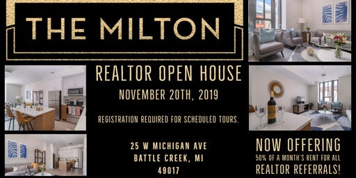 The Milton Realtor Open House