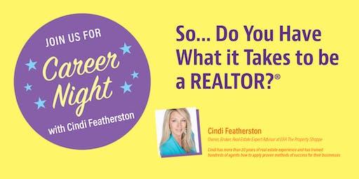 Career Night with Cindi Featherston - November!