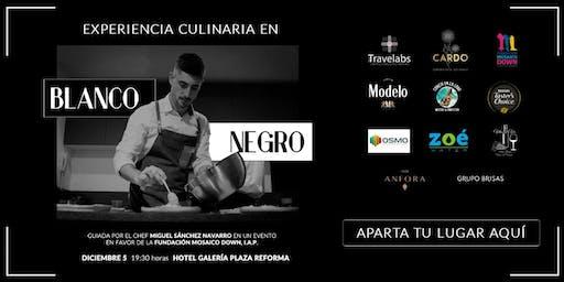 Experiencia Culinaria con Causa en Blanco & Negro