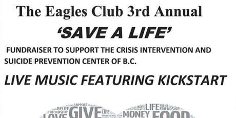 Save A Life Night tickets