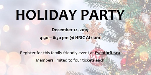 Libin Cardiovascular Institute Holiday Party 2019