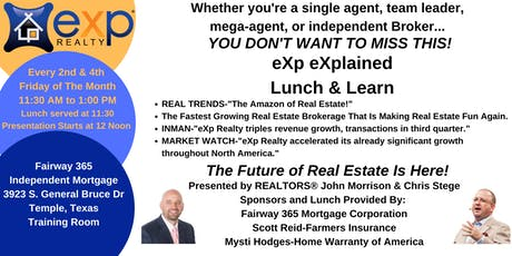 eXp Realty eXplained Lunch & Learn tickets