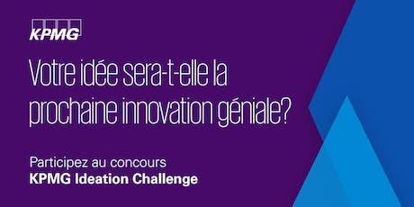 Séance d'information KPMG Ideation Challenge billets