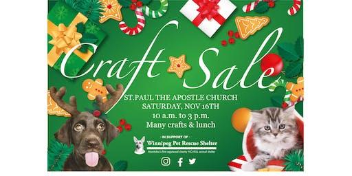 Winnipeg Pet Rescue Shelter - Christmas Craft Sale