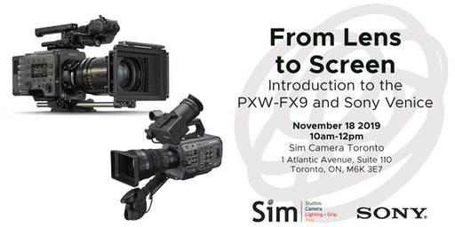 SimLab Toronto: Featuring Sony Venice & FX9