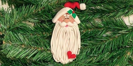 Polymer Santa Ornament Workshop with Helen Terlalis Dorn