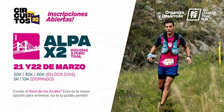 Alpa X2 entradas