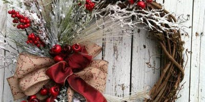 Wreath Making Event 12/6