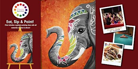 BYOB Dine & Paint: Taco Tuesday ELEPHANT (Dinner included!)  tickets
