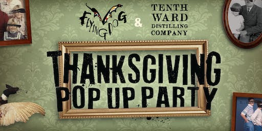 Thanksgiving Pop Up Party