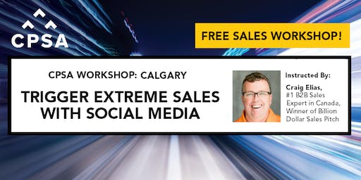 FREE Sales Workshop– Using Social Media to Capture New Customers