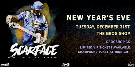 New Year's Eve with SCARFACE + Full Band / MANN /P_FRMDATRIBE / Watts tickets