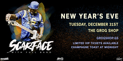 New Year's Eve with SCARFACE + Full Band / MANN /P_FRMDATRIBE / Watts