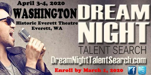 Washington Dream Night Talent Search