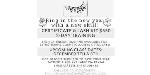 Chattanooga,TN: Classic/Volume Eyelash Extension Training and Certification