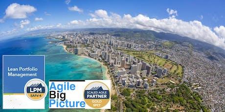 HONOLULU, HI - Lean Portfolio Management with LPM Certification tickets