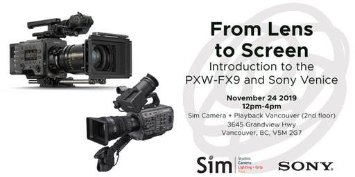 SimLab Vancouver: Featuring Sony Venice & FX9