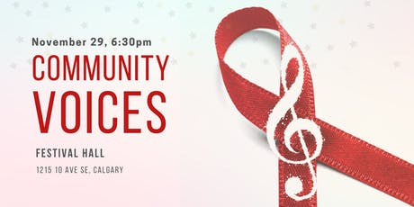 Community Voices in Honour of World AIDS Day tickets