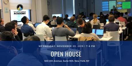Bootcamp Open House | NYC Data Science Academy tickets