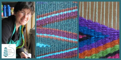 Workshop at WeFF: Wonderful Wedge Weave with Kathleen Waln