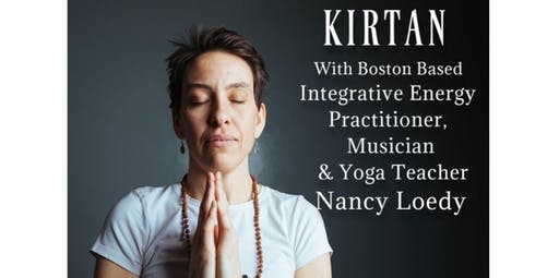 KIRTAN! An Interactive Concert of Spiritual Music! With Musician & Yogi Nancy Loedy (2019-11-17 starts at 2:00 PM)