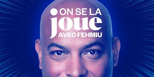 Enregistrement - On se la joue avec Fehmiu au Grand Théâtre de Québec