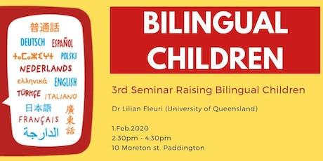 3rd Raising Bilingual Children tickets